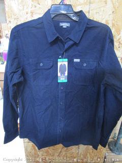Eddie Bauer Mens Cross Cut Cord Shirt XL