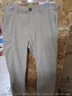 BC Clothing Mens Comfort Waist Chino 32x30 Pants