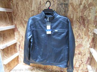 Boston Harbour Mens Genuine New Zealand Lamb Leather Jacket Large