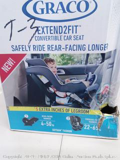 Graco Extend 2 Fit Convertible Car Seat (Online $162.86)