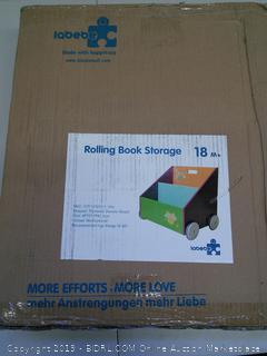 Labebe Rolling Book Storage 18M+