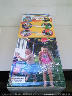 Buckets Of Fun 6-In-1 Backyard Waterpark, Ages 2+ (Online $84.99)