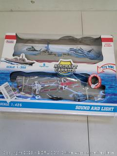Arcady Xplore Aircraft Carrier with Sound & Light