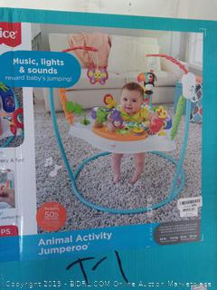 Fisher-Price Baby Jumper with Music, Lights & Sounds - Animal Wonders Jumperoo