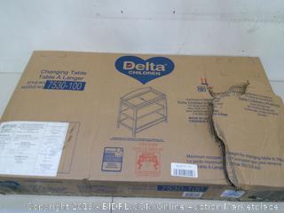 Delta Children Changing Table Model 7530-100, White (Online $83.99)