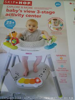 Skip Hop Explore and More Baby's View 3-Stage Activity Center, Multi, 4 Months+ (Online $103.99)