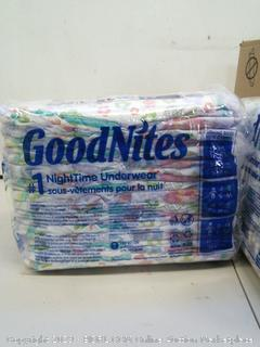 GoodNites NightTime Underwear for Girls L- XL (fits clothing sizes 8-14)