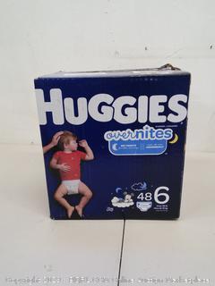 Huggies Overnights Size 6 (Over 35 lb)