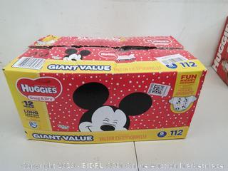 Huggies Disney Snug & Dry Diapers Size 6, Over 35 lb, 112 count