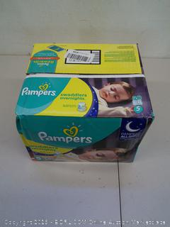 Pampers Swaddlers Overnights, Size 5, 50 Count
