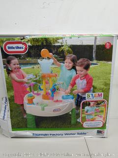 Little Tikes Fountain Factory Water Table, Ages 2+