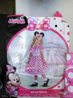 Disney Junior Minnie Mouse Toddler Costume, Size 2T, Ages 2+