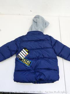 iXtreme Toddler Coat Size 3T, Navy