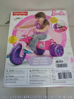 Fisher-Price Barbie Tough Trike Ages 2-5 (Online $39)