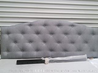 Braxton Studio Queen Headboard, Grey (Online $112.19)