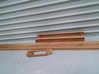 Large Wooden Art Easel (online $79) Missing parts/leg broken