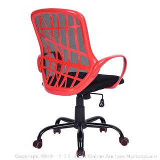 Office Chair Mid Back Mesh Executive Swivel Chair (online $76)