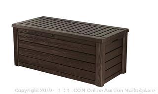 Plastic Deck Storage Container Box (online $149)