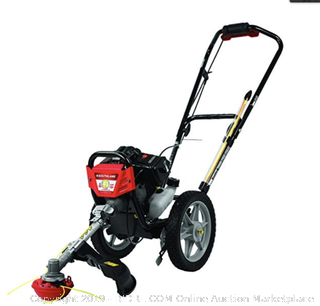 Southland 43cc Gas 17in  Wheeled String Trimmer-Mower (Online $240)
