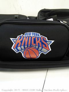 "Knicks 27"" Drop Bottom Rolling Duffel Bag"