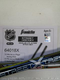NHL Street Hockey Goalie & Player Stick Set