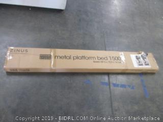 Zinus Metal Platform Bed Size Queen