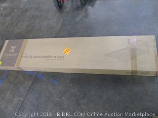Zinus Metal & Wood Platform Bed Size King