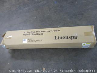 """8"""" Spring and Memory Foam Hybrid Mattress Size Queen"""
