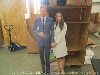 Prince Harry and Meghan Photo Prop