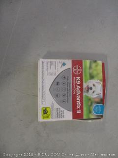 K9 Advantix II anti-pest ointment