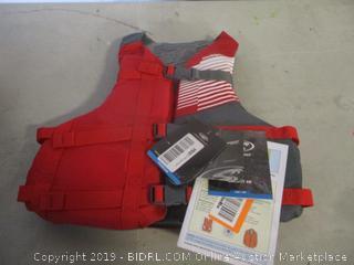 youth large/adult XS flotation vest