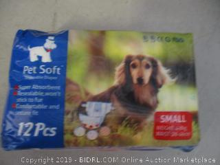 small disposable dog diapers