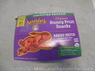 organic bunny fruit snacks