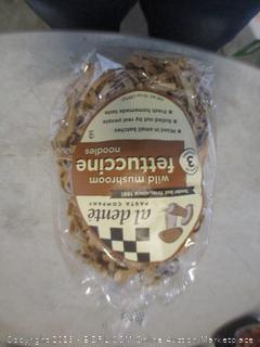 wild mushroom fettuccine noodles