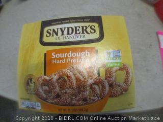 snyders sourdough hard pretzels