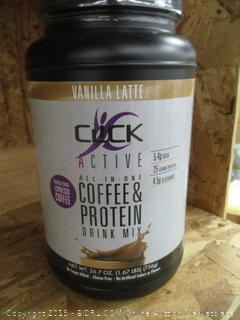 Active All In One Coffee & Protein Drink Mix
