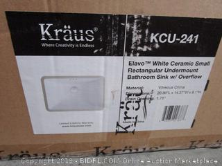 Kraus Undermount Bathroom Sink