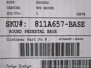 Round Pesestal Base
