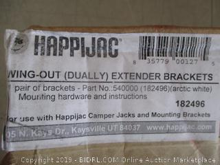 Happi Jac Swing Out Extender Brackets
