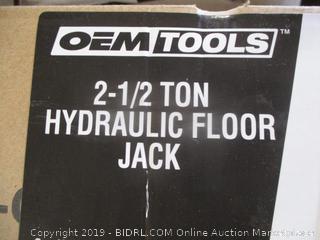 Oem Tools Hydraulic Floor Jack