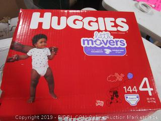 Huggies Little Movers Diapers 4