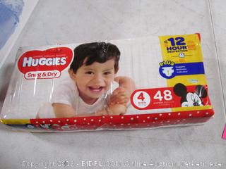Huggies Snug and Dry Diapers 4