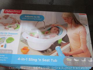 Fisher Price 4 in 1 Seat Bathtub