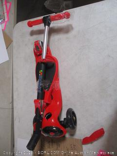 Skidee Kids Folding Scooter with Seat