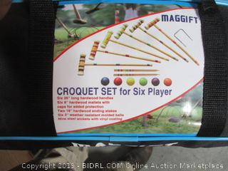 Maggift Croquet Set