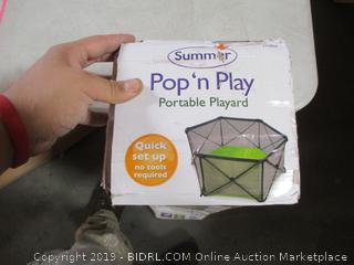 Summer Pop N Play Portable Playard