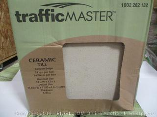 Traffic Master Ceramic Tile Canyon Beige