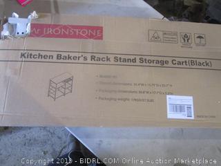 Kitchen Baker's Rack Stand Storage Cart