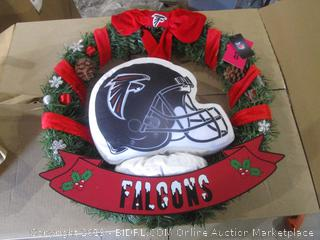 Falcons Wreath