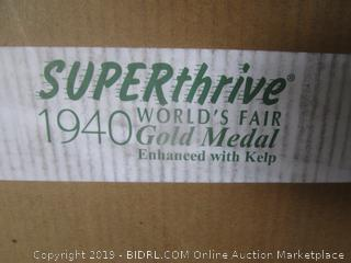 Super Thrive 1940 World's Fair Gold Metal Enchanced with Kelp